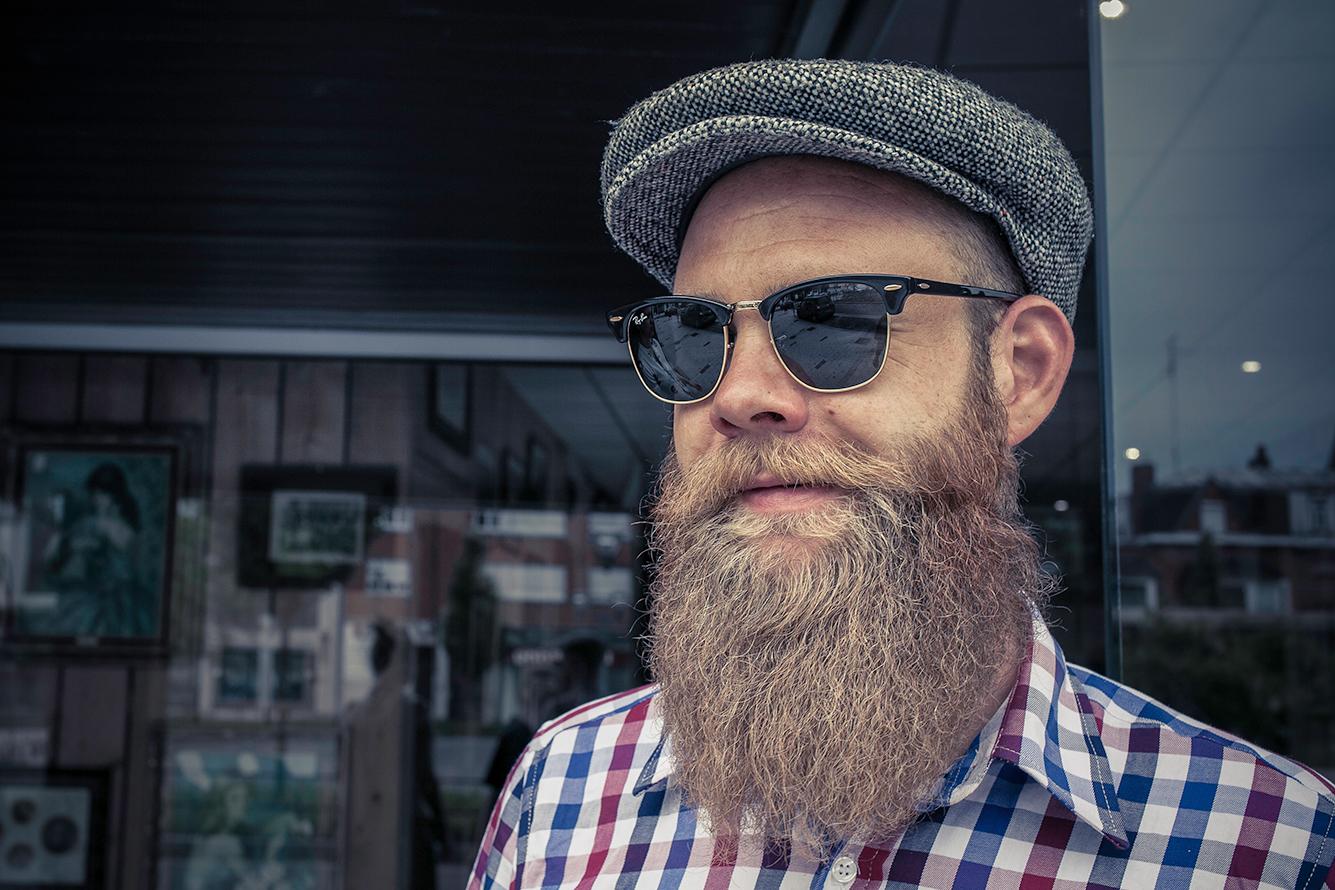 Huile pour la barbe, beard oil Lames & Tradition, marque Française