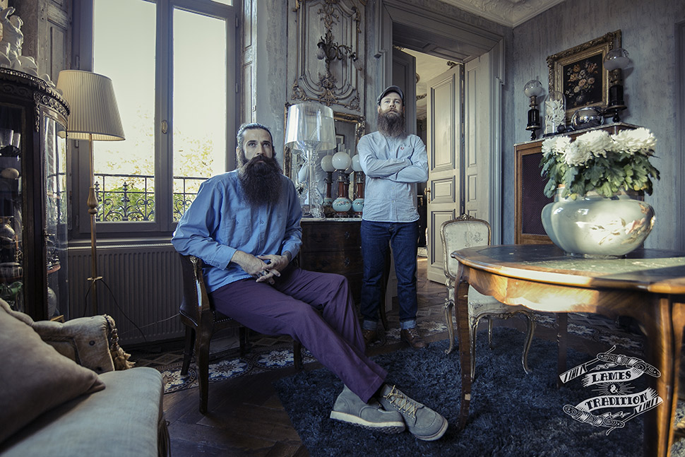 Lames & Tradition, cosmétique pour hommes barbus
