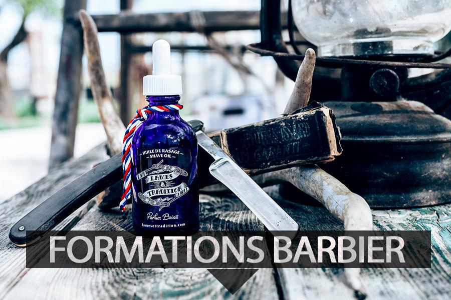 Formations barbier par Lames et tradition